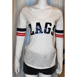 Victoria's Secret Gonzaga Zags Long Sleeve Top